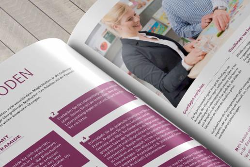 Editorial Design: Broschüre Ernährungsberatung