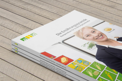 Broschüre Ernährungsberatung Covergestaltung