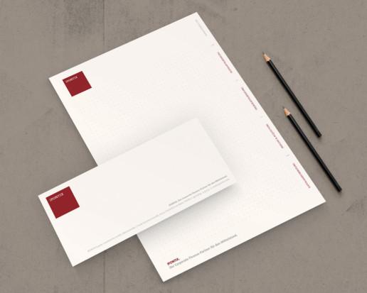 Block, Kurzbrief für Beratungsunternehmen Ipontix aus Frankfurt