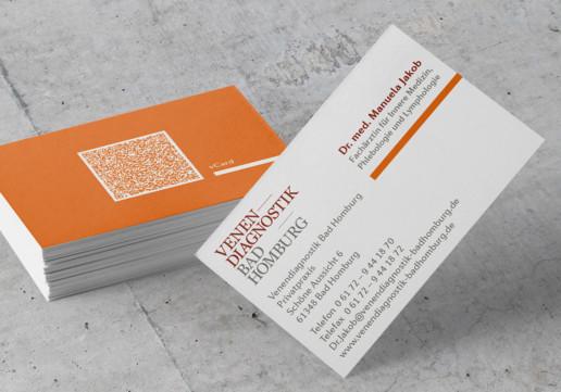 Visitenkarte Arztpraxis Venendiagnostik Bad Homburg