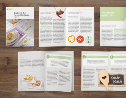 Grafikdesign: Schulungsunterlagen Heft für den aid
