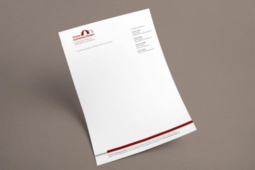 Briefbogen im Corporate Design für Anwältin Yvonne Steinkamp-Deetjen
