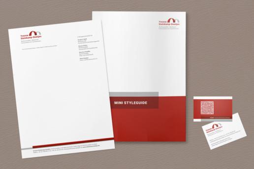 Visitenkarte, Briefbogen, Styleguide für Anwältin Yvonne Steinkamp-Deetjen