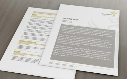 Grafikdesign: Printmedien, Beraterprofil