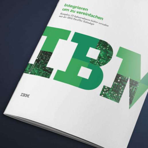 Flyer für IBM, Titel